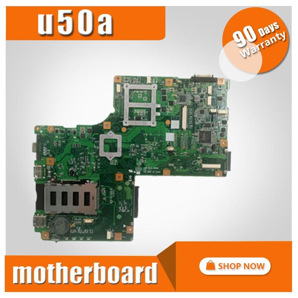 U50A mainboard For ASUS u50a laptop motherboard onboard CPU GM Test work 100% originalU50A mainboard For ASUS u50a laptop motherboard onboard CPU GM Test work 100% original