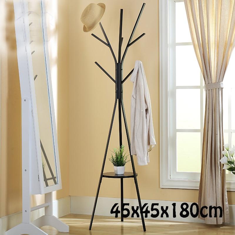 Металлическое Дерево Стиль Подставка для Пальто 45X45X180 СМ Тип пола Вешалка Творческий Металл Вешалка для одежды Вешалка для одежды Вешалка для пальто
