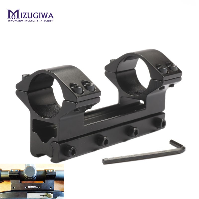 Scope Mount 25.4mm 1 Ring One Piece High Profile with Stop Pin fit 11mm Dovetail Rail Weaver Air Rifle Magnum Airgun MR 512 image