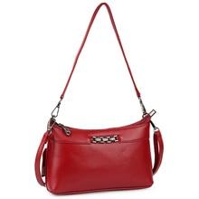 New Arrivals Multi-function Messenger Bag Genuine Leather Women's Bag Brand New Large Capacity Travelling Handbag Bolsa Feminina