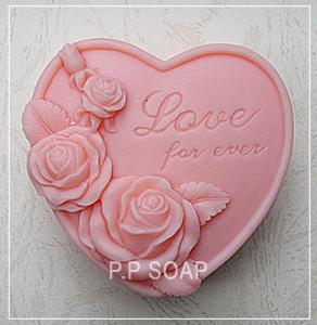 The Rose Of Love Silicone Soap mold candle mould DIY Carft molds S051The Rose Of Love Silicone Soap mold candle mould DIY Carft molds S051