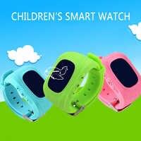 Hot Anti perdu Q50 OLED enfant SOS surveillance intelligente positionnement téléphone bébé montre Compatible IOS et Android