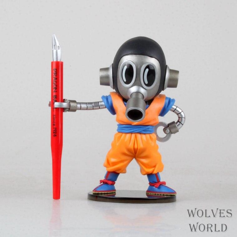 SAINTGI  Dragon Ball Z ZMEGA WCF GOHAN Vegeta Super Saiyan Goku Crystal Balls 15CM PVC Action Figure Collectible Limit Boxed
