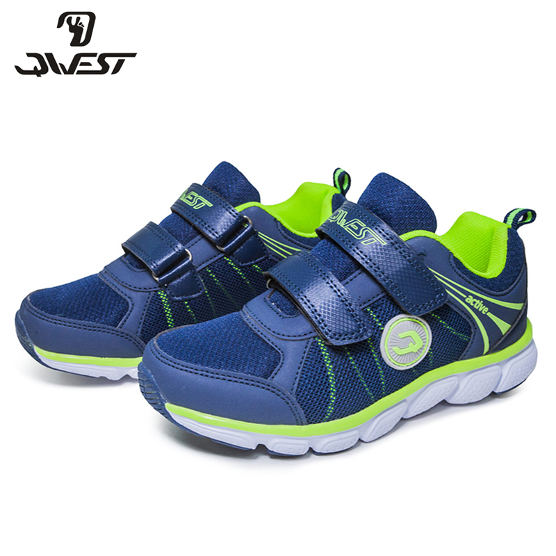 QWEST(by FLAMINGO) 2018 New Arrival Patchwork Spring& Summer Hook& Loop Outdoor sneakers for boy Free shipping 81K-YC-0609