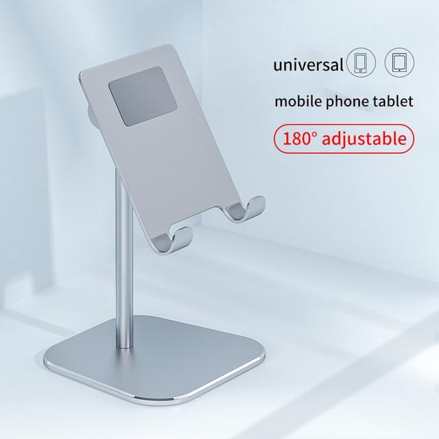 נייד טלפון Tablet רב פונקצית שולחן העבודה סטנד אוניברסלי מתכוונן נייד שולחן טלפון מחזיק עבור Samsung Iphone X XS מקסימום