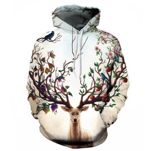 New style Space Galaxy 3d Sweatshirts Men/Women Hoodies With Hat Print Stars Nebula Autumn Winter Loose Thin Hooded Hoody Tops