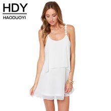 00bb842900f79 Buy hdy haoduoyi 2017 fashion solid mini dress and get free shipping ...