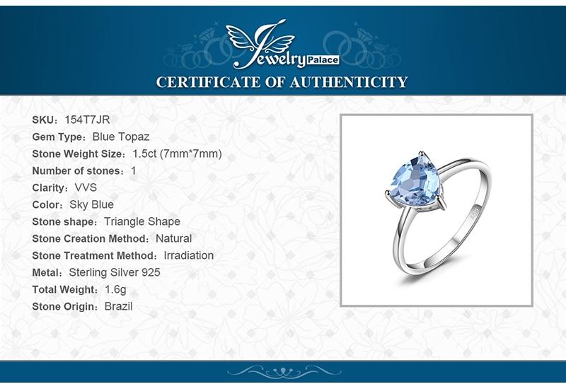 HTB1V5Cmm2ImBKNjSZFlq6A43FXak JE Genuine Amethyst Citrine Peridot Garnet Topaz Ring Solitaire 925 Sterling Silver Rings for Women Silver 925 Gemstones Jewelry
