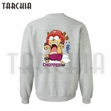 TARCHIA hoodies sweatshirt personalized double sided print Tony Tony Chopper man coat casual parental survetement One