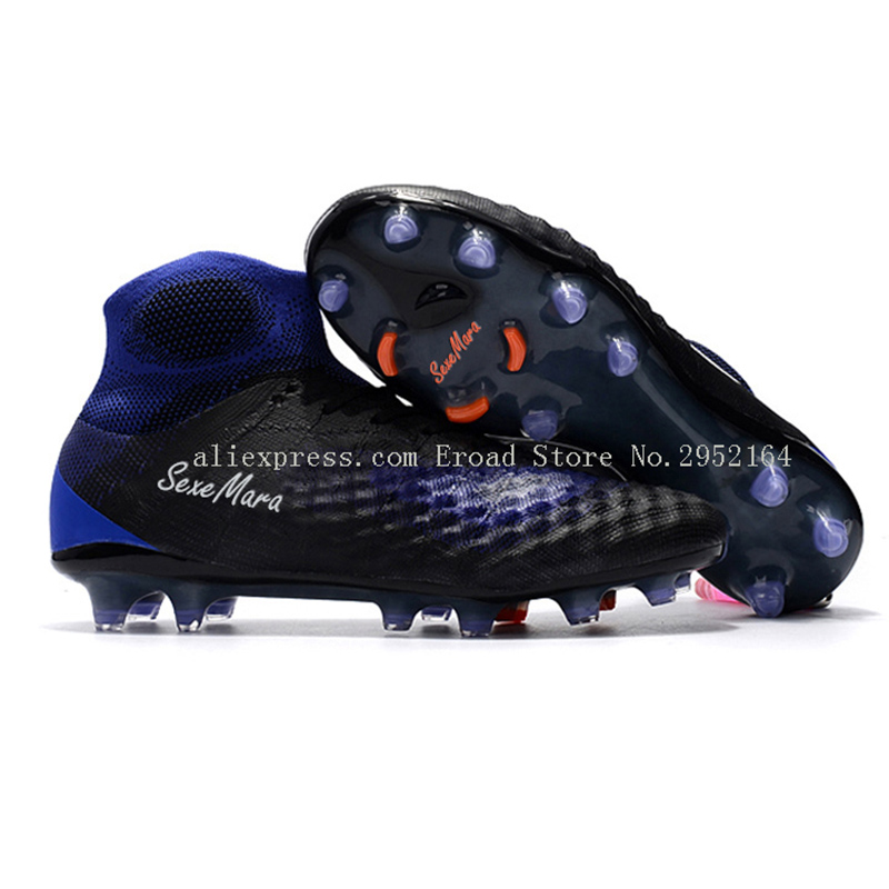 soccer shoes for men FG AG high ankle original magista cleats 2017 football boots sneakers professional soccer boots adults tiebao e1018c professional kids indoor football boots turf racing soccer boots training football shoes