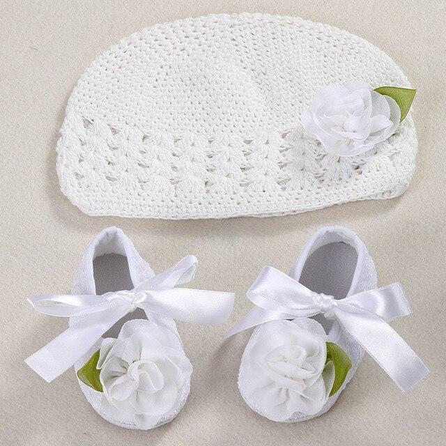 Blume Mädchen Babymütze Häkeln Handmade Fotografie Requisiten
