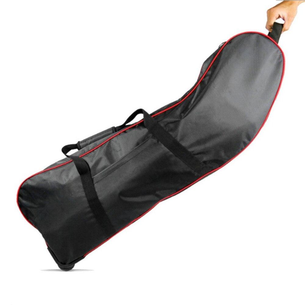 8/10 pulgadas impermeable Oxford Carring bolsa para Scooter Eléctrico plegable bolsas de almacenamiento con dos asas y correas cierre de cremallera