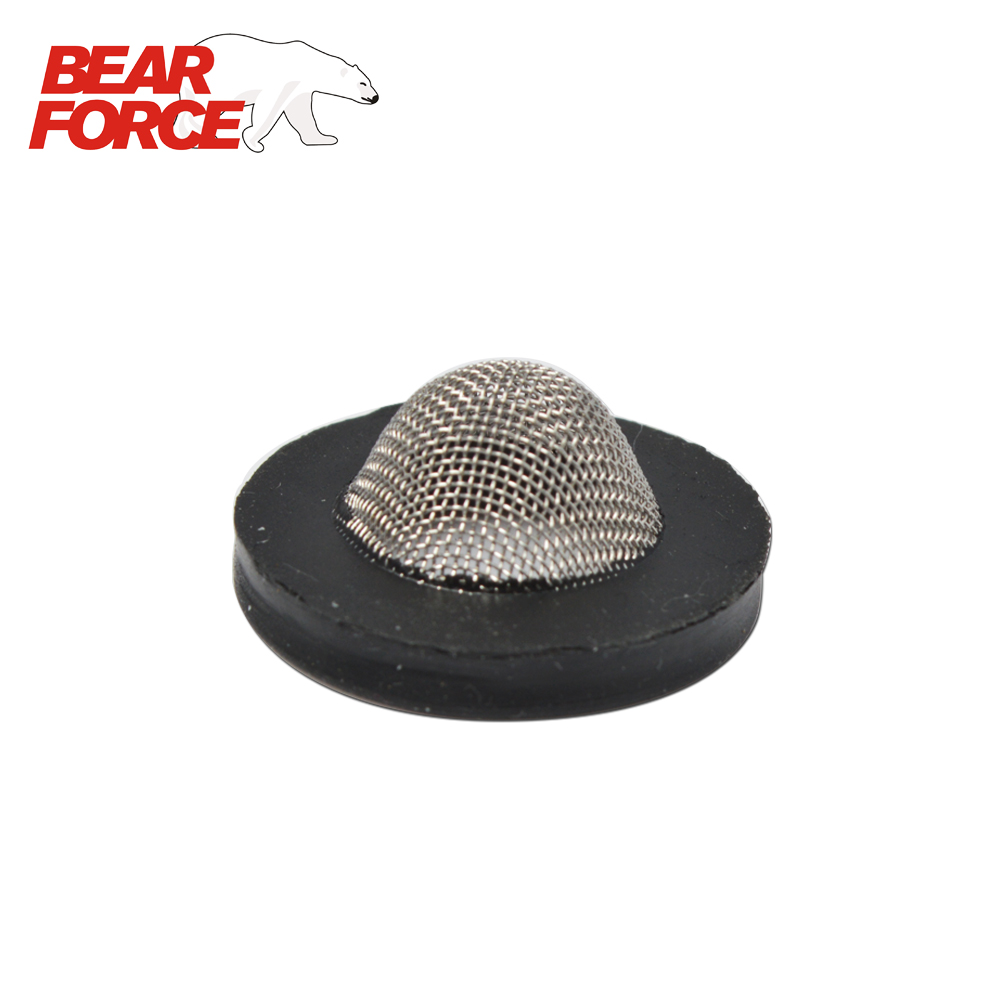 Rubber-Ring Stainless Steel Mesh Filter For Water Inlet Connector Of High Pressure Washers