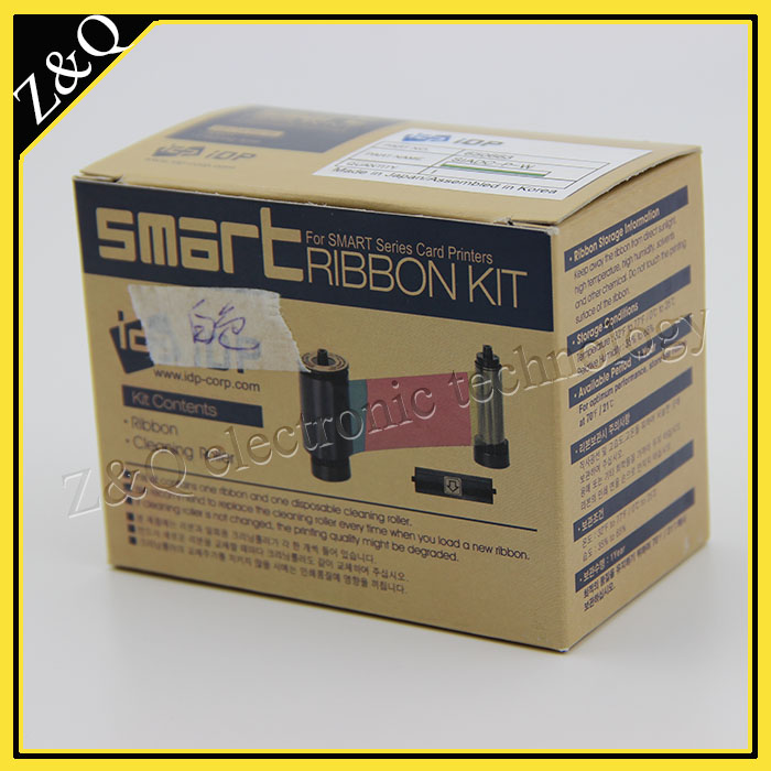 IDP Smart 650663 SIADC-P-W white ribbon for use with smart card pritners 50d,50s,30s,50l