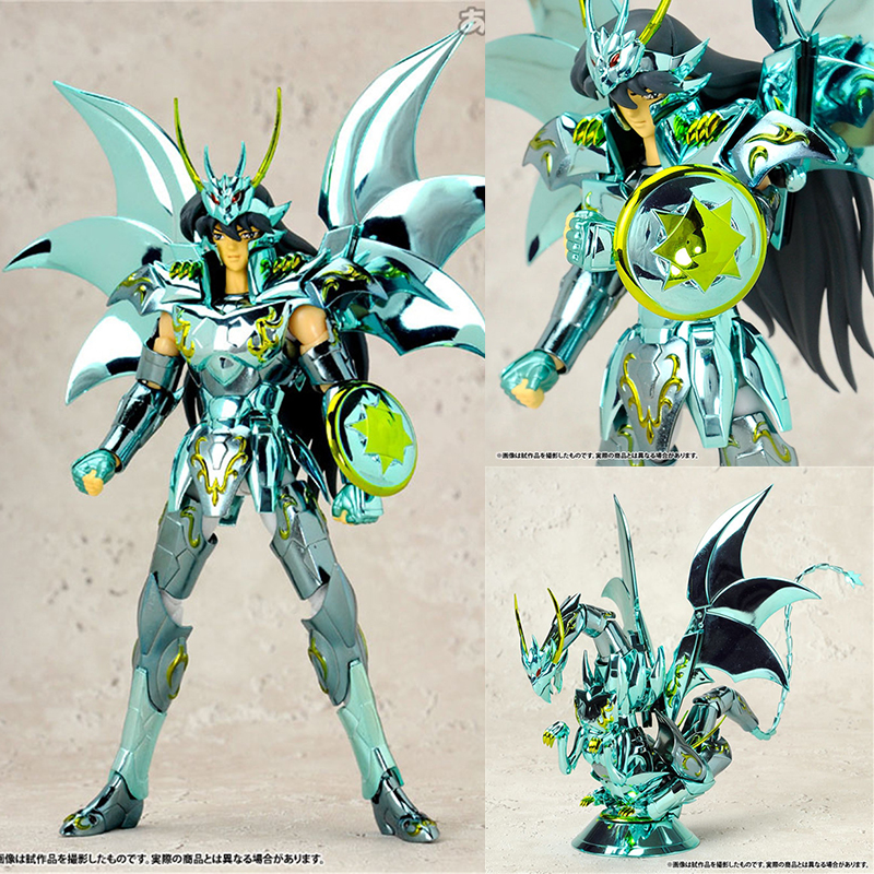 Original Saint Seiya Myth Cloth 10th Anniversary Shiryu Action Figure Myth Metel Armor Toys Collection Model Figure new arrivial saint seiya athena god myth cloth 10th anniversary saori san action figure bandai cavaleiros do zodiaco brinquedos