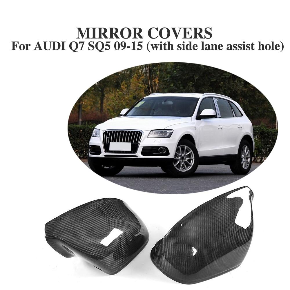 2015 Audi Sq5 Interior: Replacement Type Carbon Fiber Rearview Mirror Covers Caps