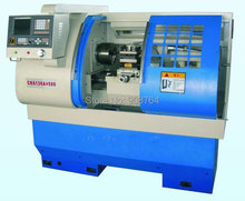machine tool CK6136X500 2 axis CNC lathe machine 3.7kw spindle 360mm turning diameter  bore 40mm