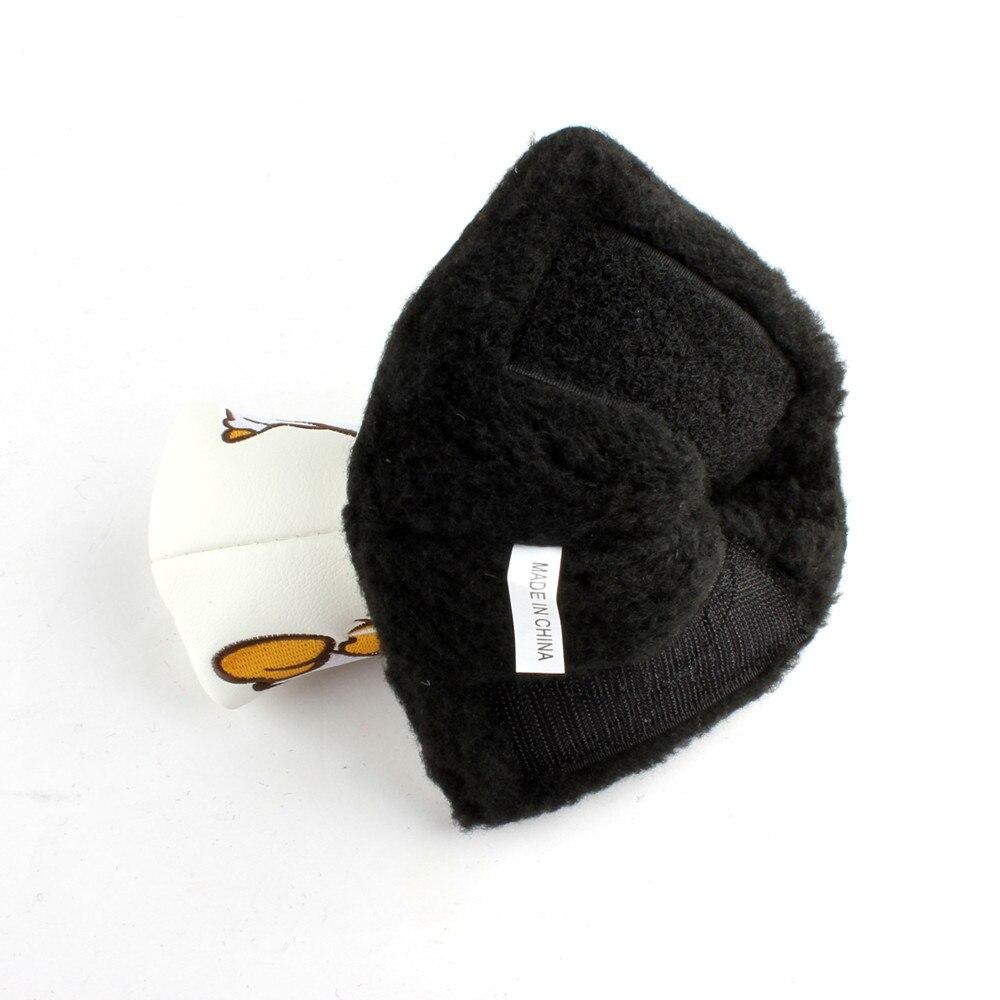 Бесплатная доставка японский каратэ человек Гольф головных уборов Лезвие Клюшка Обложка с закрытием Гольф шлем
