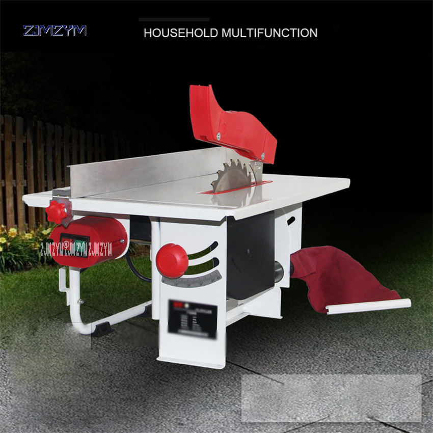 FS 200 8 inch woodworking table saw Power 220V/50 Hz Tools Panel Saw Dustless Chainsaw 2950rpm Idling speed 200*16mm Saw blade