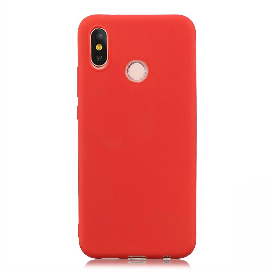 Candy Macaron Color Case For Xiaomi Redmi S2 6A 6 Pro 09
