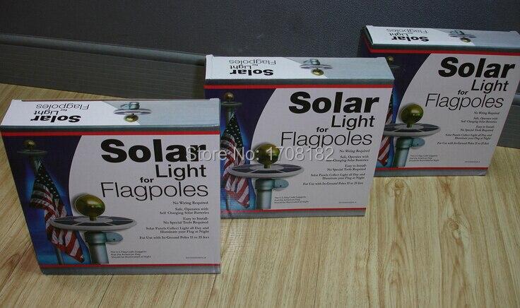 Cheap flag pole light