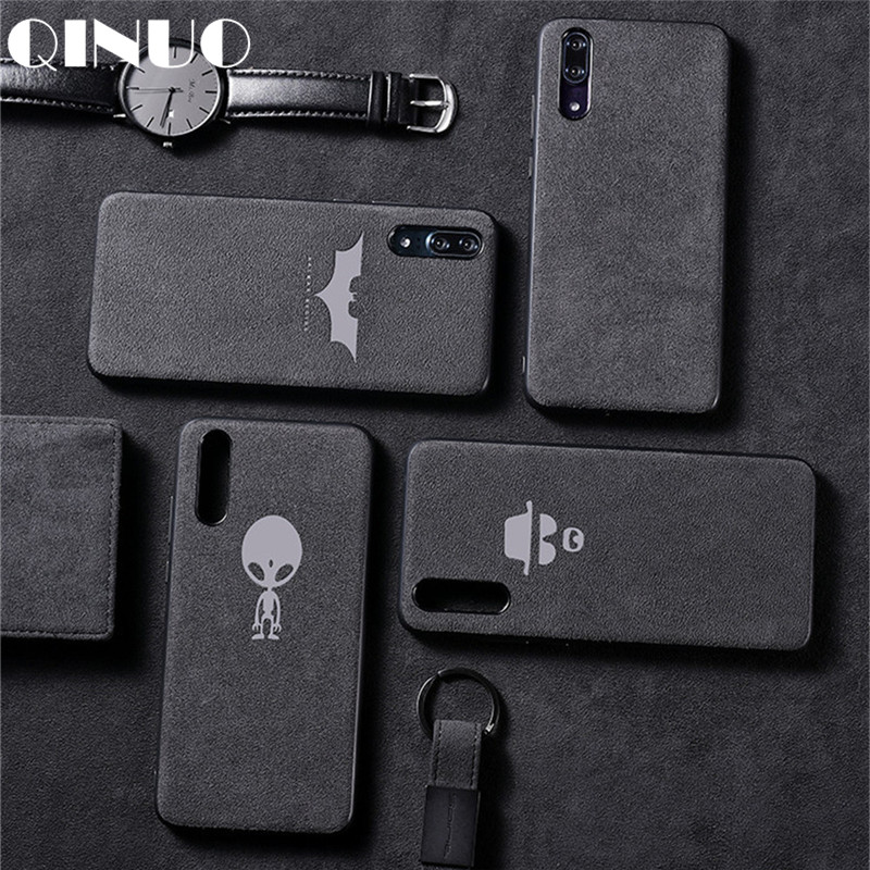 Suede Fur Case For Huawei P20 Lite P10 P30 Pro Mate 20 30 10 Pro Honor 8X 9 10 V9 V10 Nova 5 4 2S 3 3i leather Telefon Kilifi Шорты