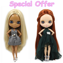Special Offer Factory Fashion Nude Blyth Doll, Joint& Normal Body on sale DIY toys Free shipping