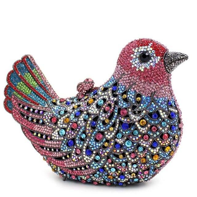 Online Shop Bird Women Wedding Clutch BagLady Animal Luxury ...