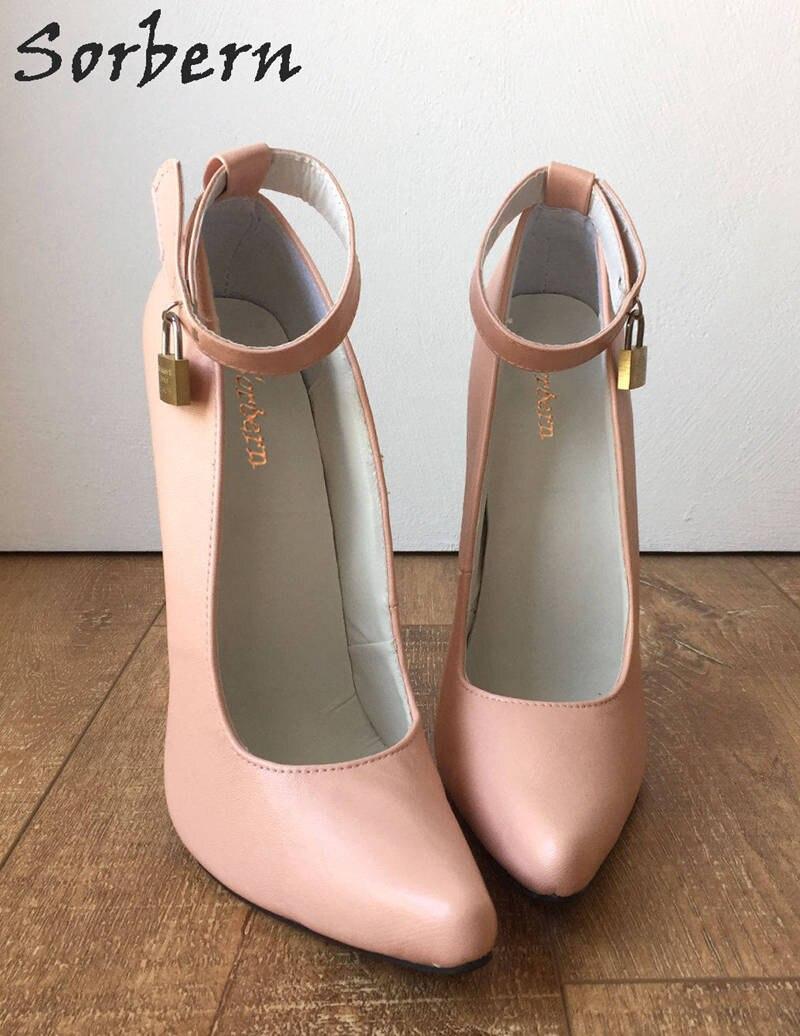Lumière Cheville 2019 Sapato Nouveau Chaussures Escarpins Sorbern Femmes Color À La Feminino Custom Partie Hauts Bride Pompes blush Blush Dans Talons Pour pqfwTqnXd