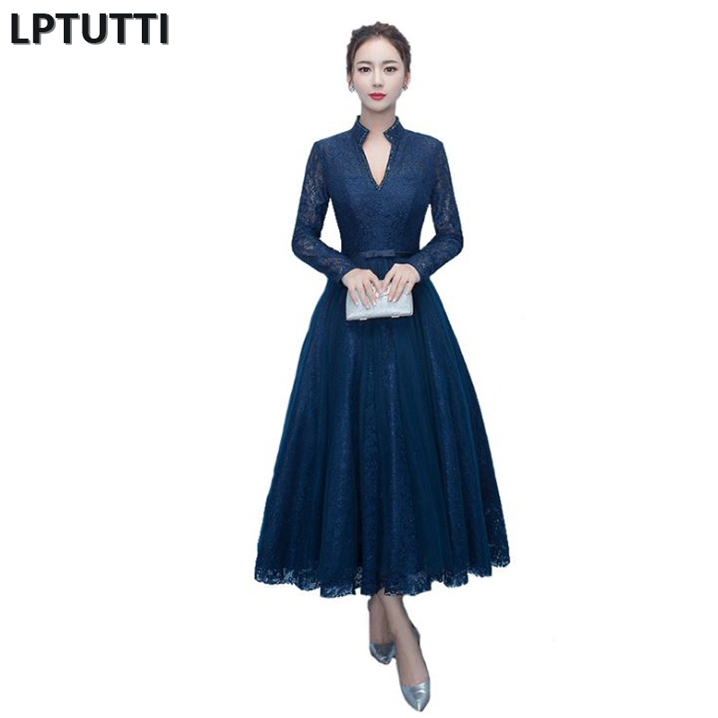 LPTUTTI Lace New Sexy Woman Plus Size Social Festive Elegant Formal Prom Party Gowns Fancy Short Luxury   Cocktail     Dresses