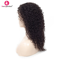 13x4 Lace Front Human Hair Wigs For Women 150% Density Pre Plucked Burmese Kinky Curly Wig Remy Wigs With Baby Hair Ear To Ear