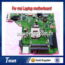 laptop motherboard for msi GP70 MS-17581 PGA947 system mainboard fully tested