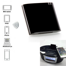 цена на New Mini Bluetooth Receiver Bluetooth A2DP Music Receiver Audio Adapter for iPad iPod iPhone 30Pin Dock for speaker