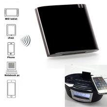 Nowy Mini Bluetooth odbiornik Bluetooth A2DP odbiornik muzyczny do iPad ipoda iPhone 30Pin stacja dokująca dla głośnik SP558B tanie tanio REDAMIGO Pełny Zakres Brak 2 (2 0) Połączenie Z tworzywa sztucznego Bluetooth A2DP Music Receiver 60 w 100 w Inne 4 0 A2DP