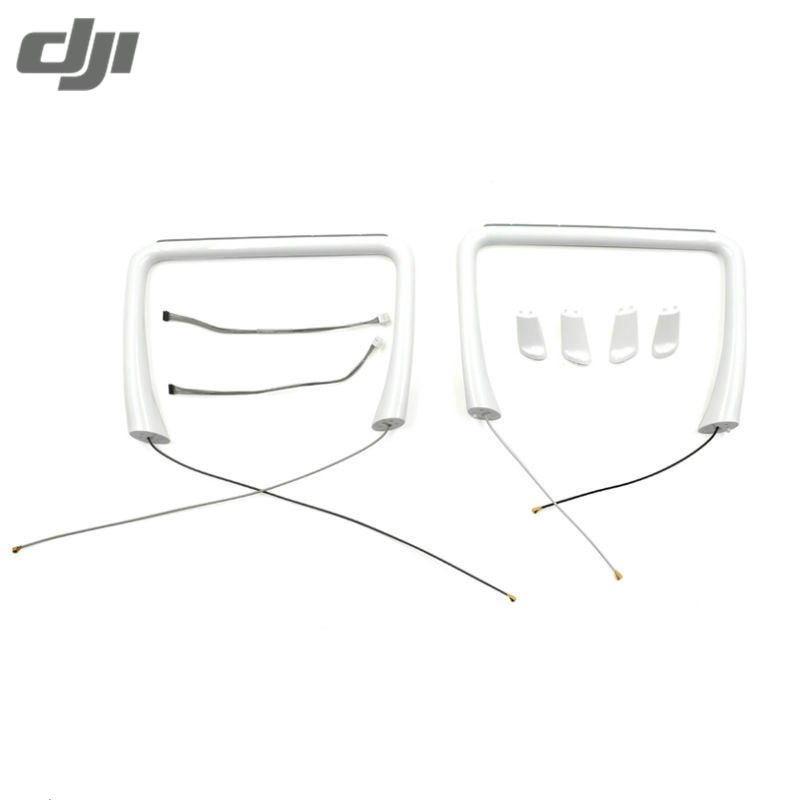 DJI Phantom 4 RC Quadcopter FPV Racer Drone Frame Kit Body Shell Accs Tripod Landing Gear Antenna Compasses Set