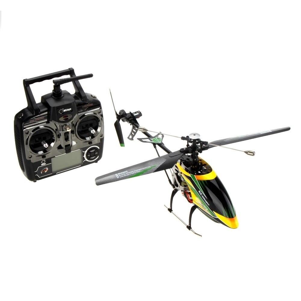 Original Wltoys 52 CM hélicoptère V912 Version de mise à niveau sans brosse parfait 4CH simple lame RC hélicoptère jouets pour enfants