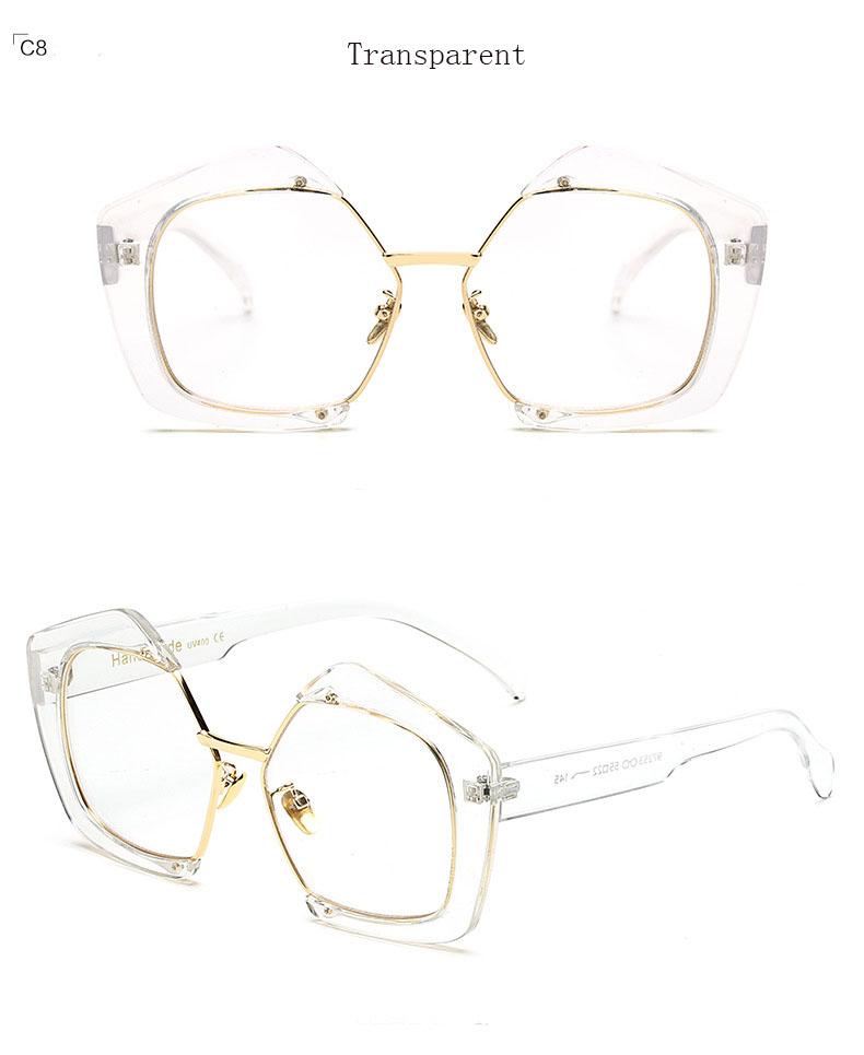 HTB1V5HNPpXXXXXmaXXXq6xXFXXXF - 2017 New Sunglasses Women Brand Designer Semi-Rimless Cat Eye Fashion Sun Glasses for Ladies Pink Oculos De Female Gafas