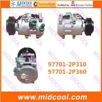 HIGH QUALITY AUTO AC COMPRESSOR DV16 FOR 97701-2P310 97701-2P360