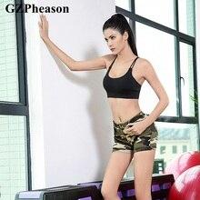 Camouflage Women Short Sexy Leggings Fitness feminina Plus Size Workout Gym Clothing Running Sports
