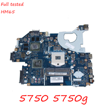 NOKOTION MB. BYX02.001 MBBYX02001 LA-6901P основная плата для acer aspire 5750 5750G материнская плата ноутбука HM65 DDR3 GeForce GT630M