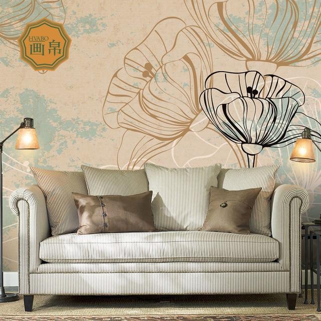 US $11.23 42% di SCONTO|Foto sfondo personalizzato in stile country  Americano soggiorno camera da letto wallpaper art original design  personalizzato ...