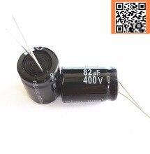 22 шт./лот 400 В 82 мкФ высокая частота низкое сопротивление 400v82uf алюминиевый электролитический конденсатор Размер 18*25