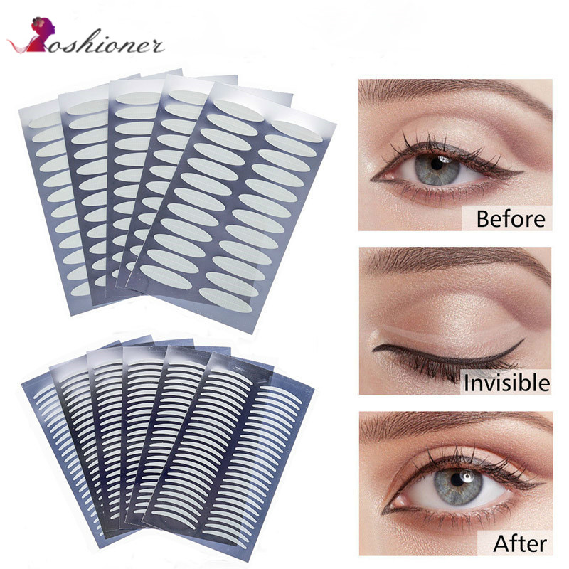 751cc0d17a3 1056 PCS Invisible Double Eyelid Tape Self-Adhesive Double Eyelid Stickers  - Clear and Waterproof Fiber (Slim or Wide) ~ Hot Deal July 2019