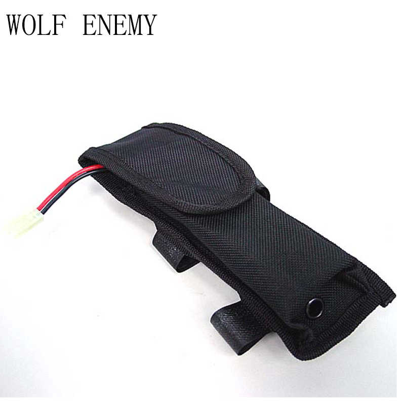 Military Airsoft AEG External Large Tactical Outdoor Nylon Battery Pouch Bag Pack