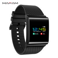 Fashion Smart Wrist Bracelet With Blood Pressure Blood Oxygen Heart Rate Monitor Pedometer For Android IOS