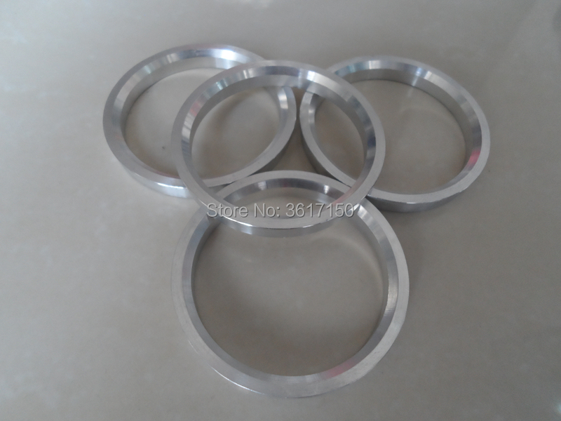 60.1x72.56 Set of 4 Wheel Hub Rings 60.1 ID 72.56 OD Hub Centric Rings Of The Polycarbonate Plastic Or Aluminum Alloy enlarge