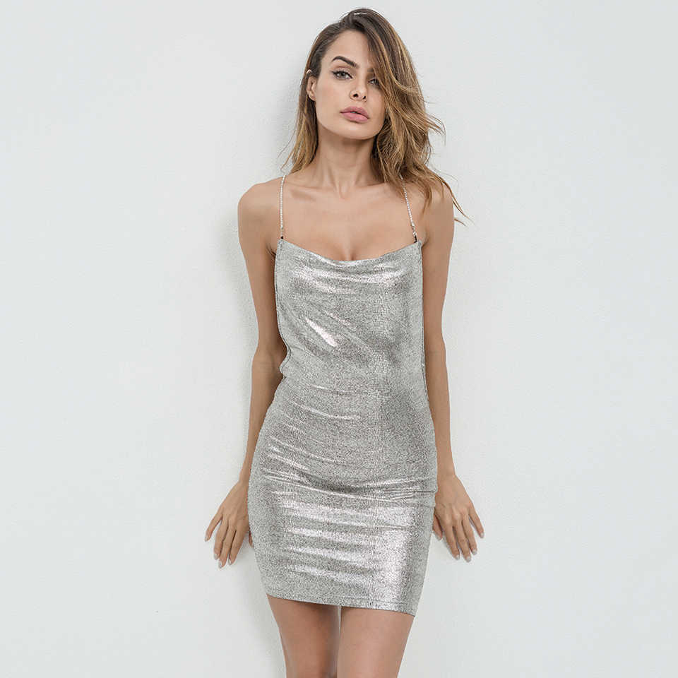 f21c9ade844df ... Karlofea 2017 Sexy Club Women Dress Fashion Christmas Party Evening Clothing  Backless Women Mini Dresses ...