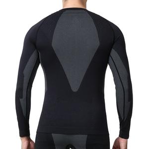 Image 3 - YOOY vêtements dhiver Sexy pour hommes, ensemble deux pièces, Johns grande taille, vêtements pour hommes, Long, à séchage rapide, sous vêtement thermique