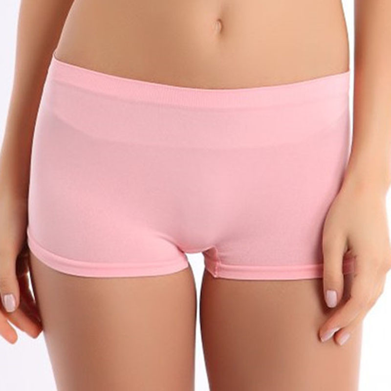 2019 New Women Safety Shorts Soft Cotton Seamless Safety Pants Summer Underwear Skirt Modal Ice Silk Breathable Short Tights