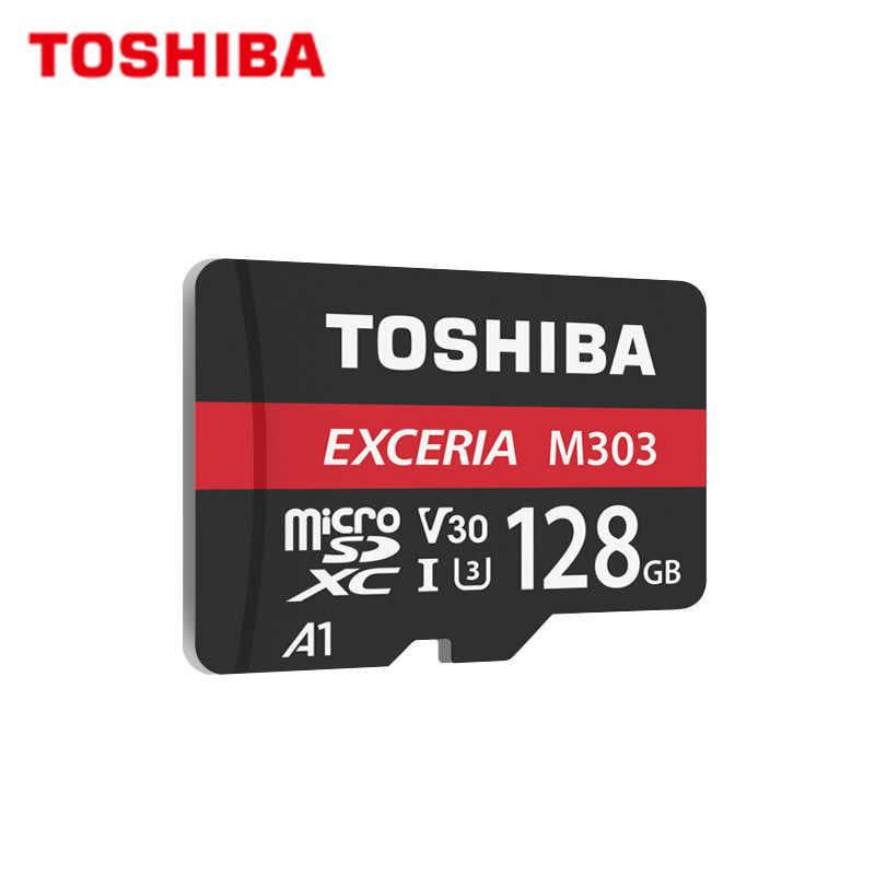 Оригинальная карта памяти 16 ГБ 32 ГБ U1 класс 10 SDHC TOSHIBA Micro SD карта 64 Гб 128 ГБ SDXC U3 V30 4K флеш-карта памяти TF микро SD для телефона